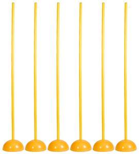 All Goals Soccer Coaching Stick w/ Base Sets