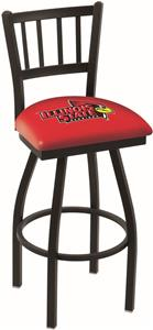 Illinois State Univ Jailhouse Swivel Bar Stool