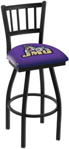 James Madison Univ Jailhouse Swivel Bar Stool