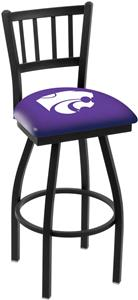 Kansas State University Jailhouse Swivel Bar Stool