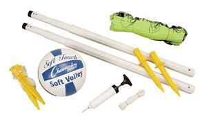 Champion Sports  Deluxe Outdoors Volleyball Set