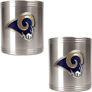 NFL St. Louis Rams Stainless Steel Can Holder