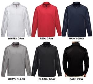 TRI MOUNTAIN Durham Quarter-Zip Pullover Shirt