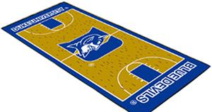 Fan Mats Duke University Basketball Court Runner