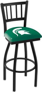 Michigan State Univ Jailhouse Swivel Bar Stool