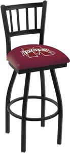 Mississippi State Univ Jailhouse Swivel Bar Stool