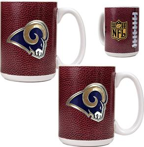 NFL St. Louis Rams Gameball Mug (Set of 2)