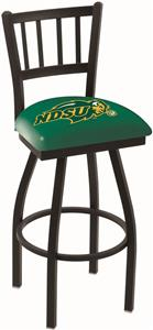 North Dakota State Univ Jailhouse Swivel Bar Stool