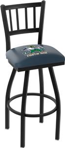 Notre Dame Leprechaun Jailhouse Swivel Bar Stool
