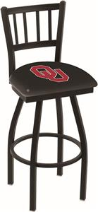 Oklahoma University Jailhouse Swivel Bar Stool