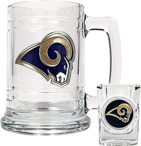 NFL St. Louis Rams Boilermaker Gift Set