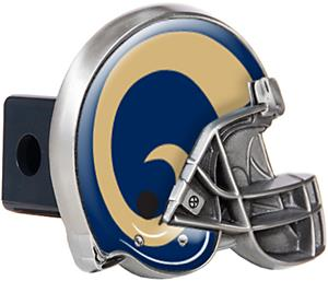 NFL St. Louis Rams Helmet Trailer Hitch Cover