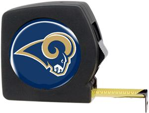 NFL St. Louis Rams 25' Tape Measure w/Logo