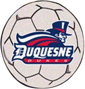 Fan Mats Duquesne University Soccer Ball Mat
