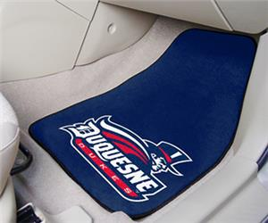 Fan Mats Duquesne University Carpet Car Mats (set)