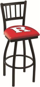 Rutgers University Jailhouse Swivel Bar Stool