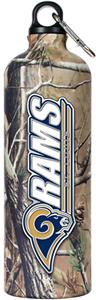 NFL St. Louis Rams 32oz RealTree Water Bottle