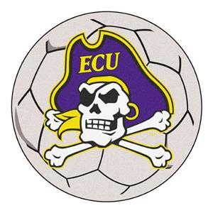 Fan Mats East Carolina University Soccer Ball