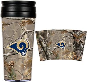 NFL St. Louis Rams Realtree Travel Tumbler