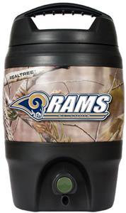NFL St. Louis Rams 1gal Realtree Tailgate Jug