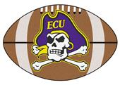 Fan Mats East Carolina University Football Mat