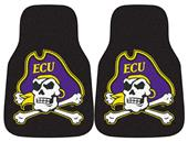Fan Mats East Carolina Univ Carpet Car Mats (set)