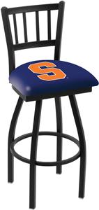 Syracuse University Jailhouse Swivel Bar Stool