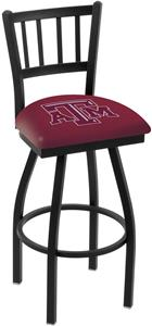 Texas A&M Jailhouse Swivel Bar Stool