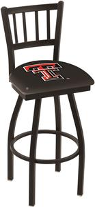 Texas Tech University Jailhouse Swivel Bar Stool