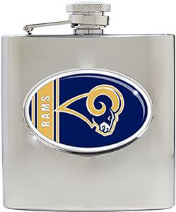 NFL St. Louis Rams 6oz Stainless Steel Flask