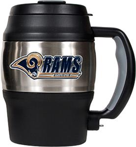 NFL St. Louis Rams Mini Jug w/Bottle Opener