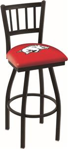 University of Arkansas Jailhouse Swivel Bar Stool