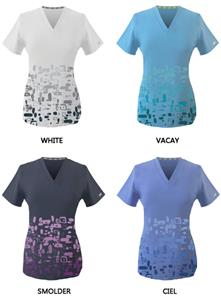 New Balance Healthcare Foursquare Scrub Tops