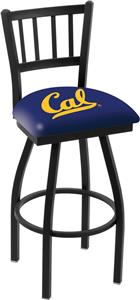 Univ of California Jailhouse Swivel Bar Stool