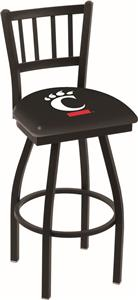 Univ of Cincinnati Jailhouse Swivel Bar Stool
