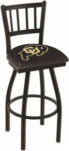 University of Colorado Jailhouse Swivel Bar Stool