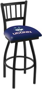 Univ of Connecticut Jailhouse Swivel Bar Stool