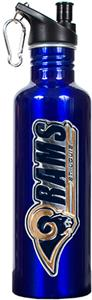 NFL St. Louis Rams Blue Stainless Water Bottle