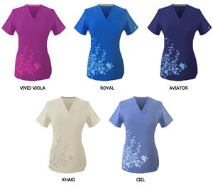 New Balance Healthcare Flutter Scrub Tops