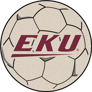 Fan Mats Eastern Kentucky University Soccer Ball