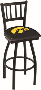 University of Iowa Jailhouse Swivel Bar Stool
