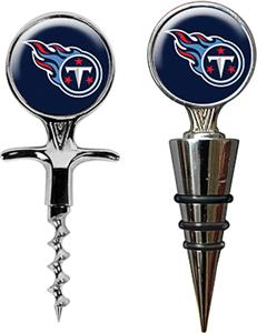 NFL Tennessee Titans Cork Screw & Bottle Topper