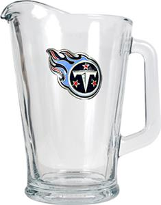 NFL Tennessee Titans 1/2 Gallon Glass Pitcher