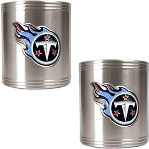 NFL Tennessee Titans Stainless Steel Can Holders