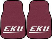 FanMat Eastern Kentucky Univ Carpet Car Mats (set)