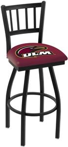 Univ Louisiana Monroe Jailhouse Swivel Bar Stool