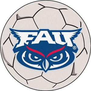 Fan Mats Florida Atlantic University Soccer Ball