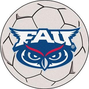 Fan Mats Florida Atlantic University Soccer Ball