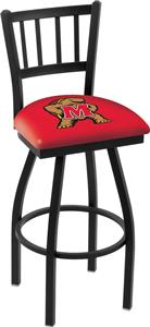 University of Maryland Jailhouse Swivel Bar Stool