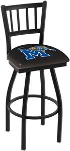 University of Memphis Jailhouse Swivel Bar Stool